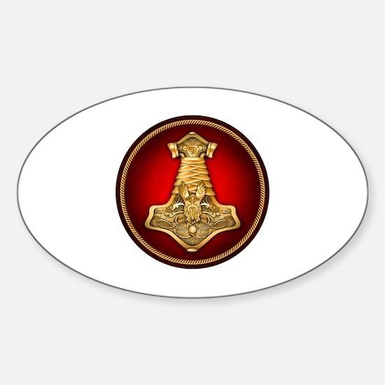 Triskele Sticker (Oval)