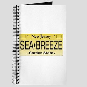 Sea Breeze NJ Tag Gifts Journal