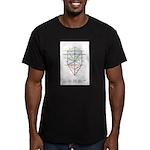 Kabbalah Men's Fitted T-Shirt (dark)