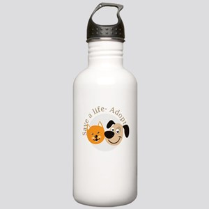 save a life - adopt Stainless Water Bottle 1.0L