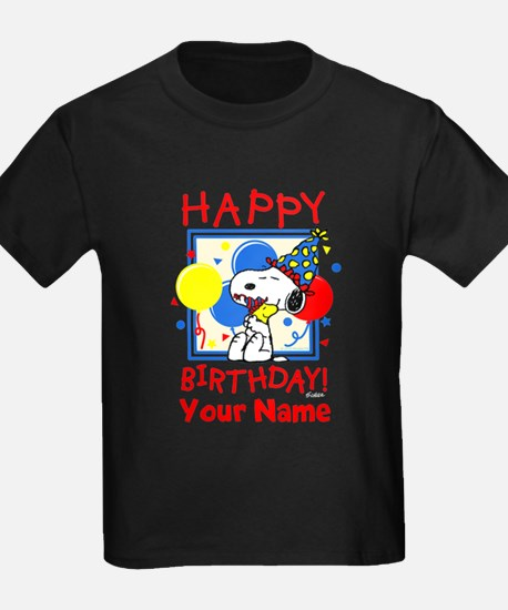 Peanuts Happy Birthday Red Perso T