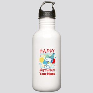 Peanuts Happy Birthday Stainless Water Bottle 1.0L