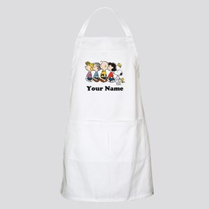 Peanuts Walking No BG Personalized Apron