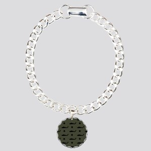 U.S. Army: UH-60 Black H Charm Bracelet, One Charm