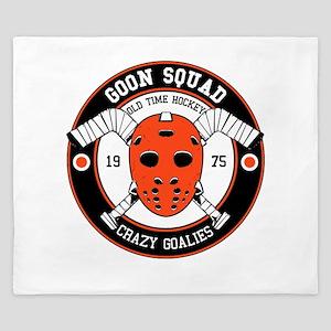 Goon Hockey mask King Duvet