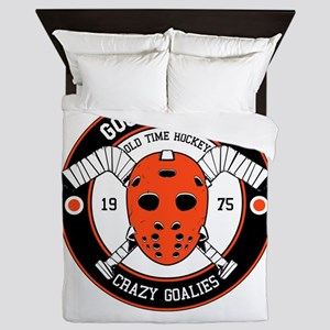 Goon Hockey mask Queen Duvet