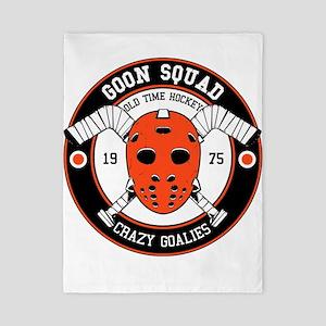 Goon Hockey mask Twin Duvet