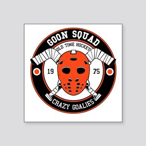 Goon Hockey mask Sticker
