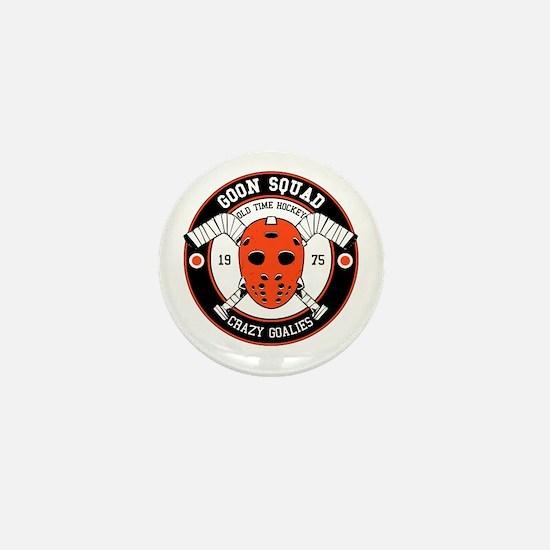 Goon Hockey mask Mini Button