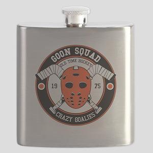Goon Hockey mask Flask