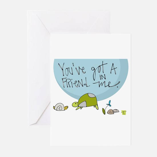 Here for You Greeting Cards