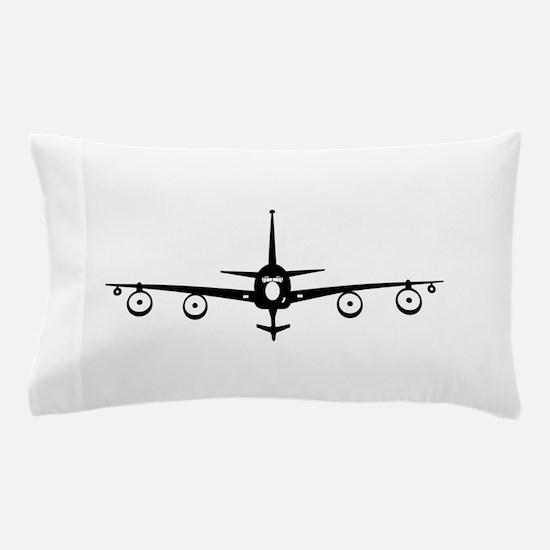 KC-135 Black Pillow Case