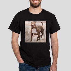Hexin the pit bull Dark T-Shirt
