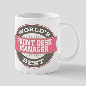 front desk manager Mug