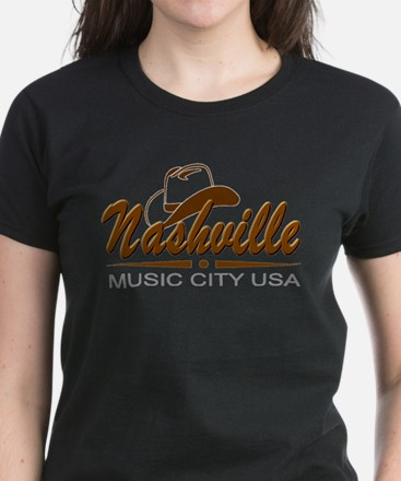 Nashville Music City USA-02 T-Shirt