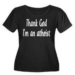 Thank God I'm an atheist Women's Plus Size Scoop N