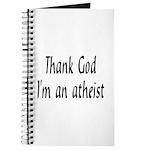 Thank God I'm an atheist Journal
