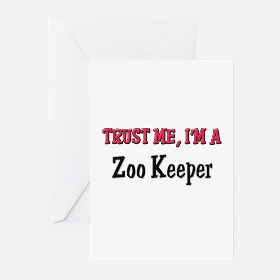 Trust Me I'm a Zoo Keeper Greeting Cards (Pk of 10