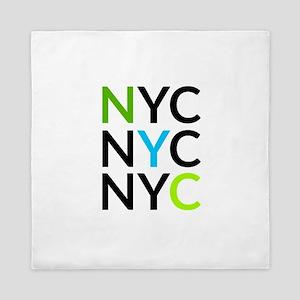 NYC Queen Duvet