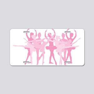 The Grand Ballet - Pink Aluminum License Plate