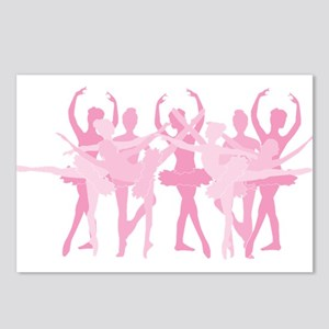 The Grand Ballet - Pink Postcards (Package of 8)