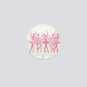 The Grand Ballet - Pink Mini Button