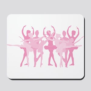 The Grand Ballet - Pink Mousepad