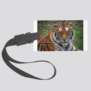 Athena Picture Ornament Luggage Tag