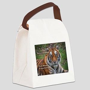 Athena Picture Ornament Canvas Lunch Bag