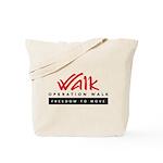 Operation Walk Freedom to move Logo Tote Bag