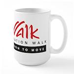 Operation Walk Freedom to move Logo Mugs