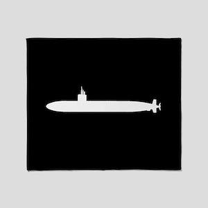 U.S. Navy: Los Angeles Class Submari Throw Blanket