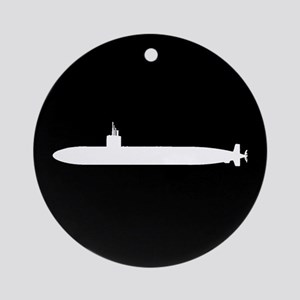 U.S. Navy: Los Angeles Class Submar Round Ornament