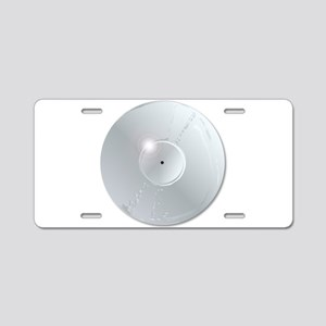 Platinum Record Aluminum License Plate