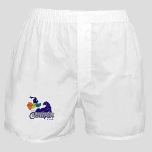 CATS Classic Cougar Club Logo Boxer Shorts
