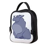 Hippopotamus Neoprene Lunch Bag