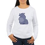 Hippopotamus Long Sleeve T-Shirt