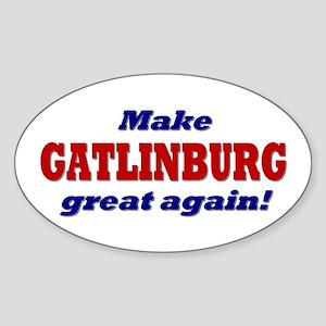 Make Gatlinburg Great Again Sticker