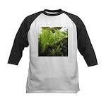 Ferns on Oak Tree Baseball Jersey
