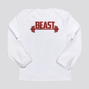 Beast Red Long Sleeve Infant T-Shirt