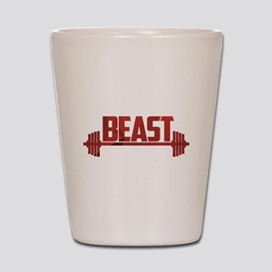 Beast Red Shot Glass