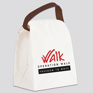 Operation Walk Freedom to move Logo Canvas Lunch B