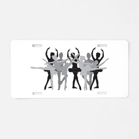 The Grand Ballet - Black Aluminum License Plate