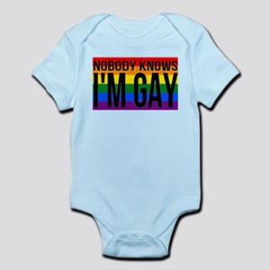Nobody Knows I'm Gay Body Suit