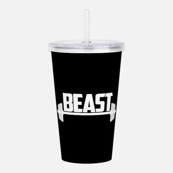 Beast Acrylic Double-wall Tumbler