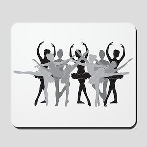The Grand Ballet - Black Mousepad