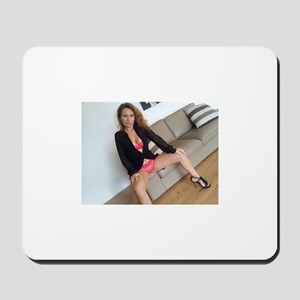 Sexy girl hot wife sensual selfies Mousepad