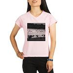 Gulls in Flight Performance Dry T-Shirt