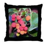 Madrone Berries Throw Pillow