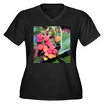 Madrone Berries Plus Size T-Shirt